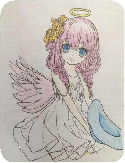 奥谷、天使絵